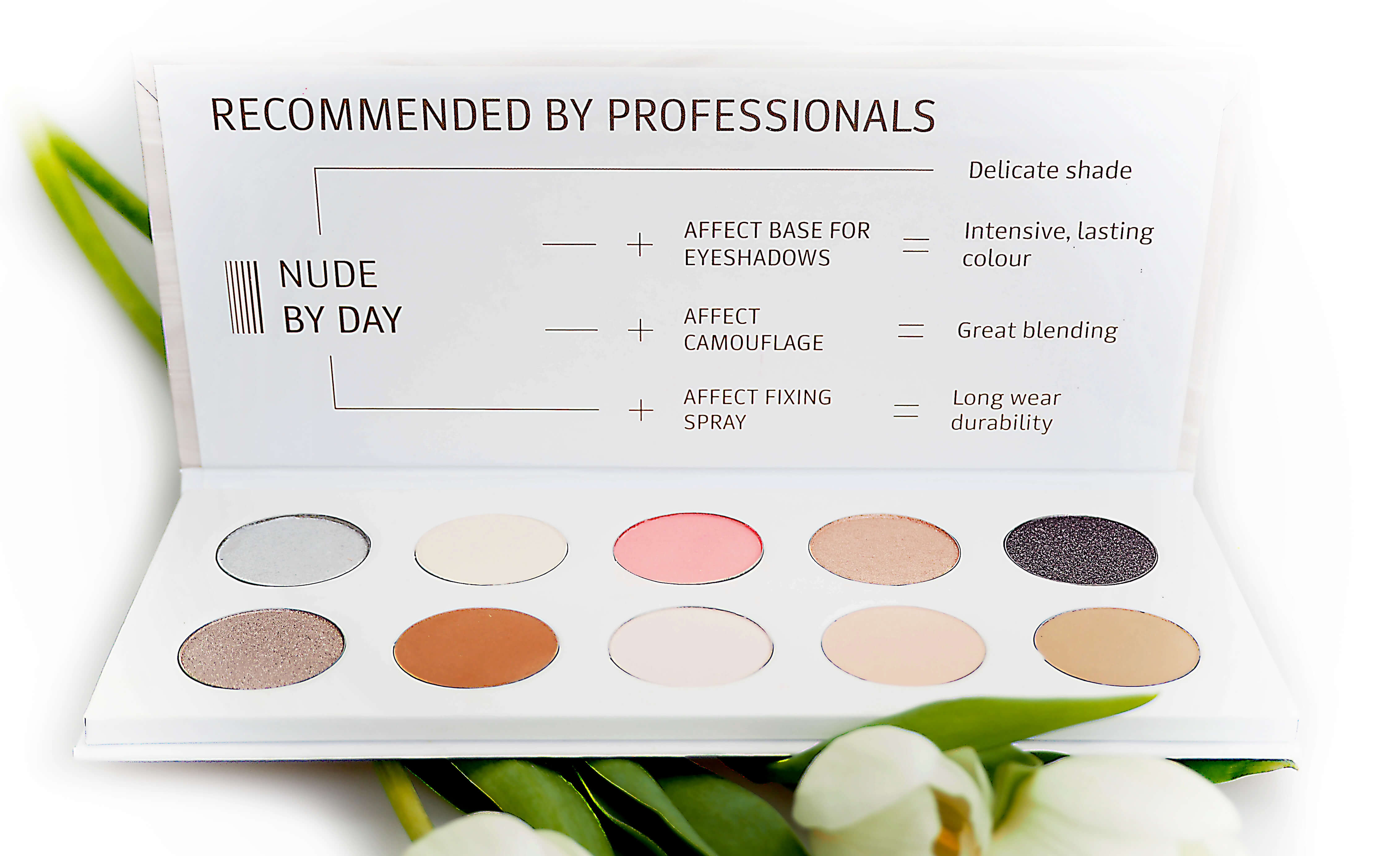 AFFECT Nude By Day paleta cieni