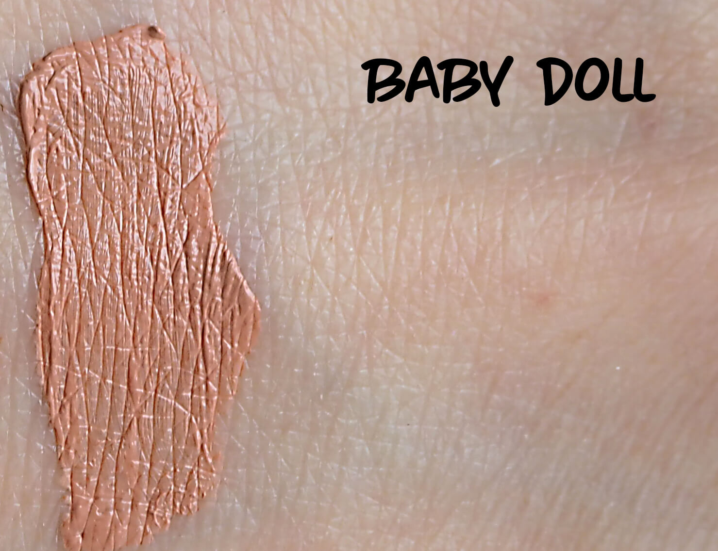 Swatch NYX Baby Doll LIP LINGERIE