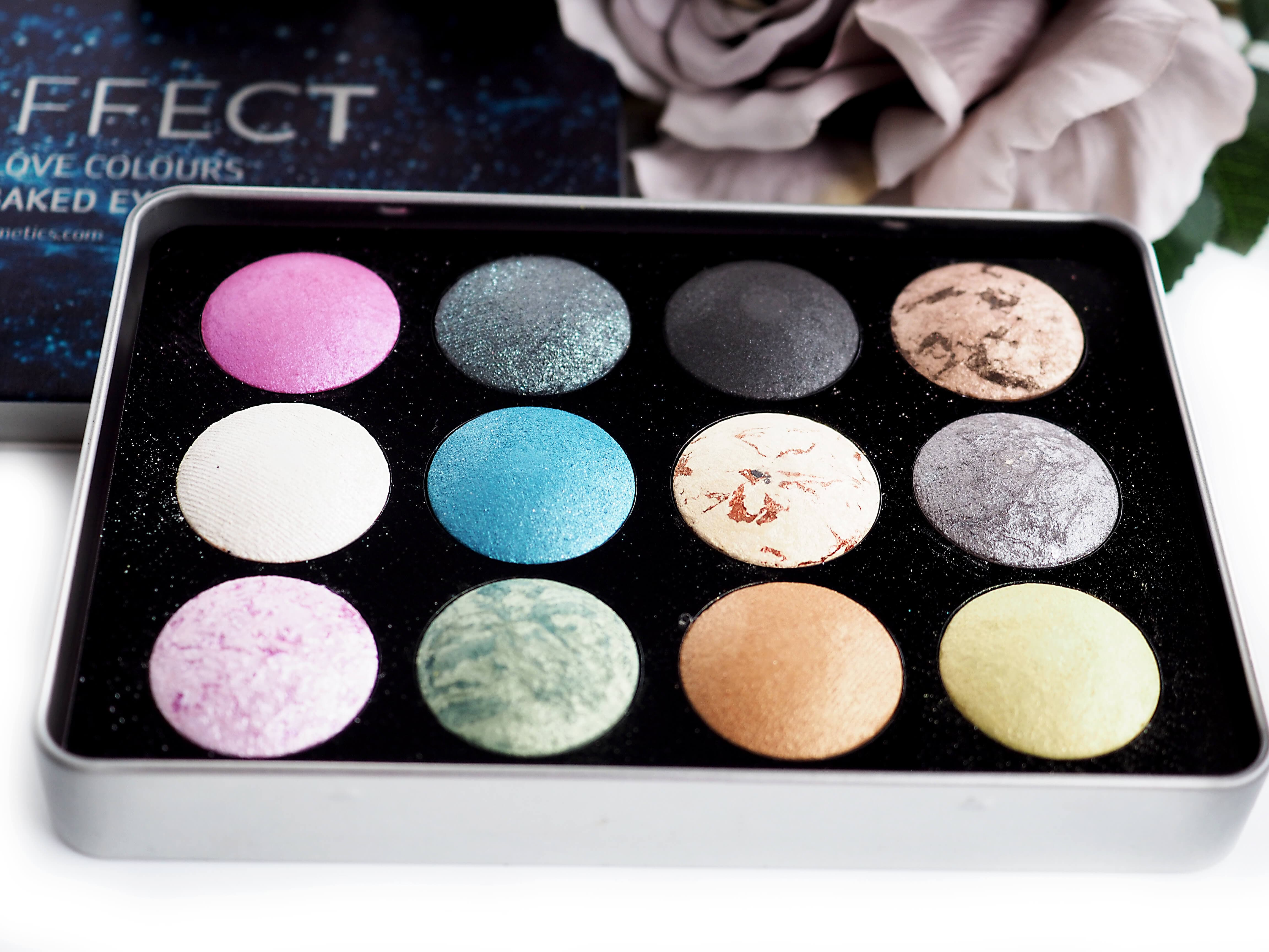 Opinia AFFECT LOVE COLOURS BAKED EYESHADOWS