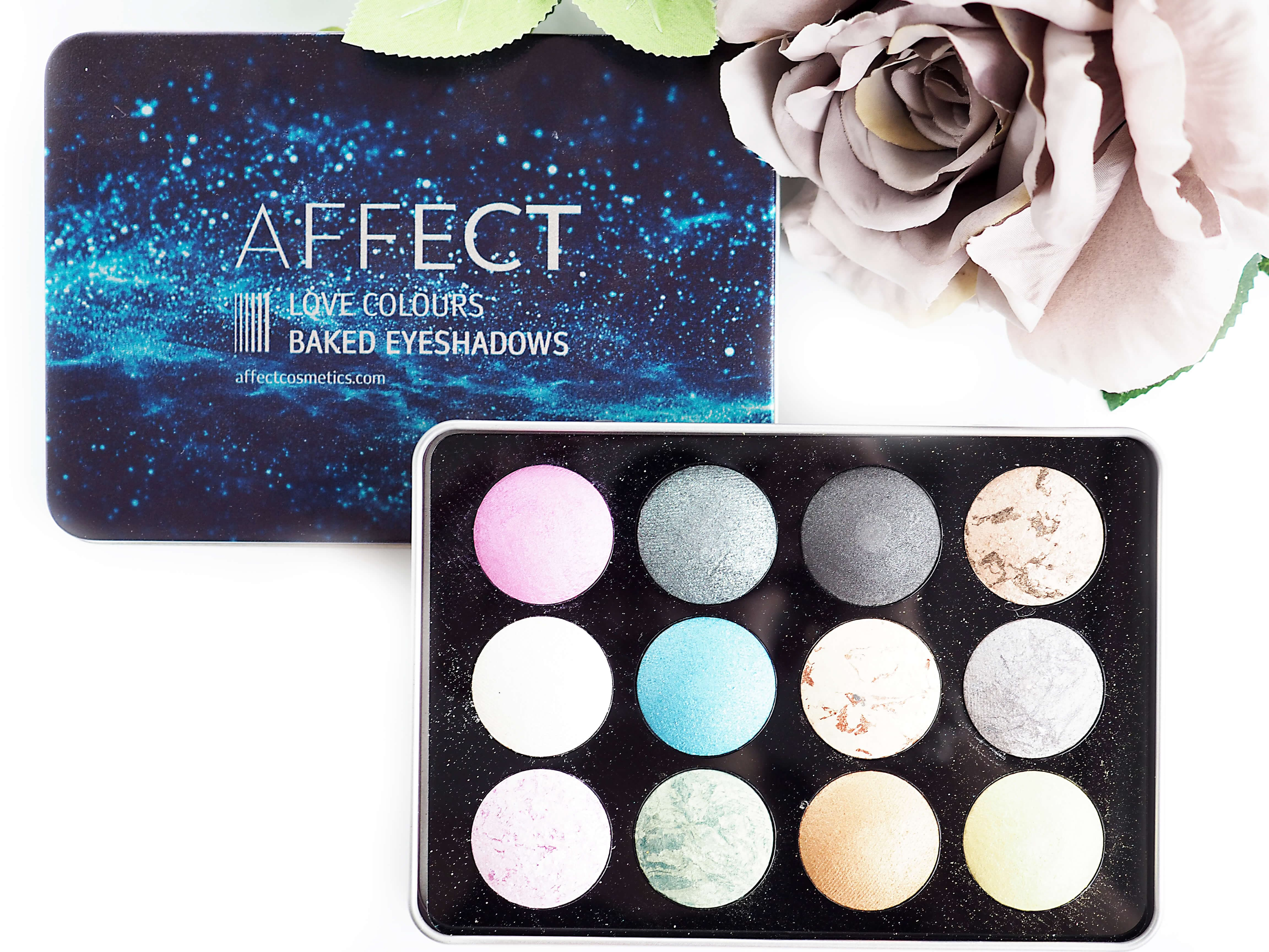 TEST AFFECT LOVE COLOURS BAKED EYESHADOWS