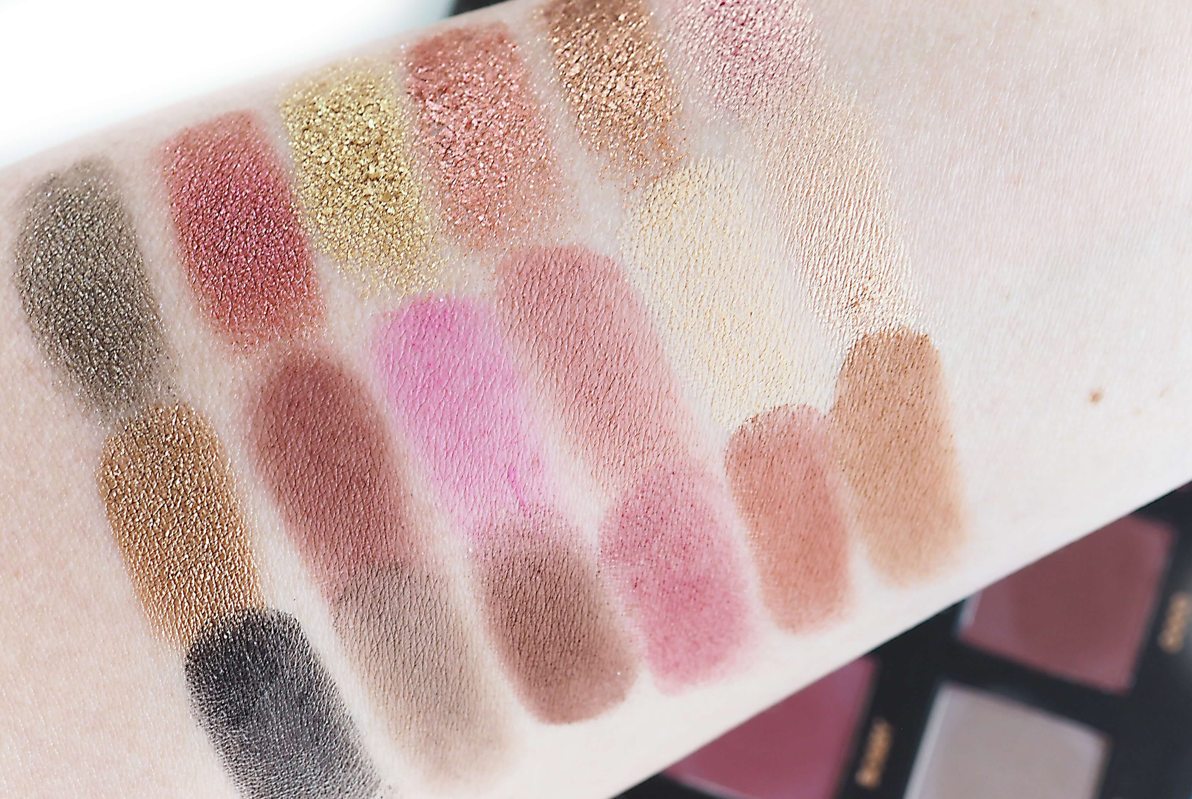 Swatches HUDA ROSE GOLD EDITION