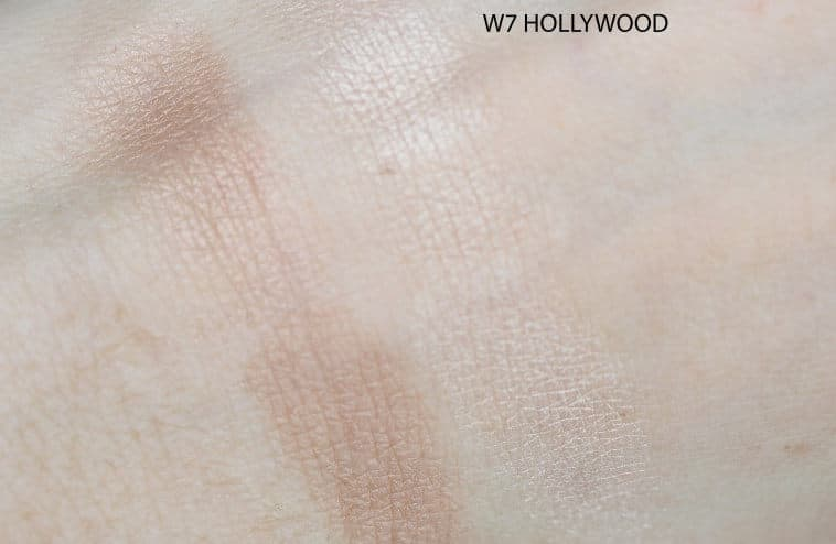 Swatch W7 HOLLYWOOD BRONZE AND GLOW
