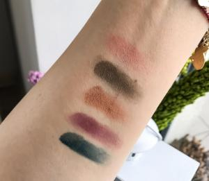 YSL Scandal swatches