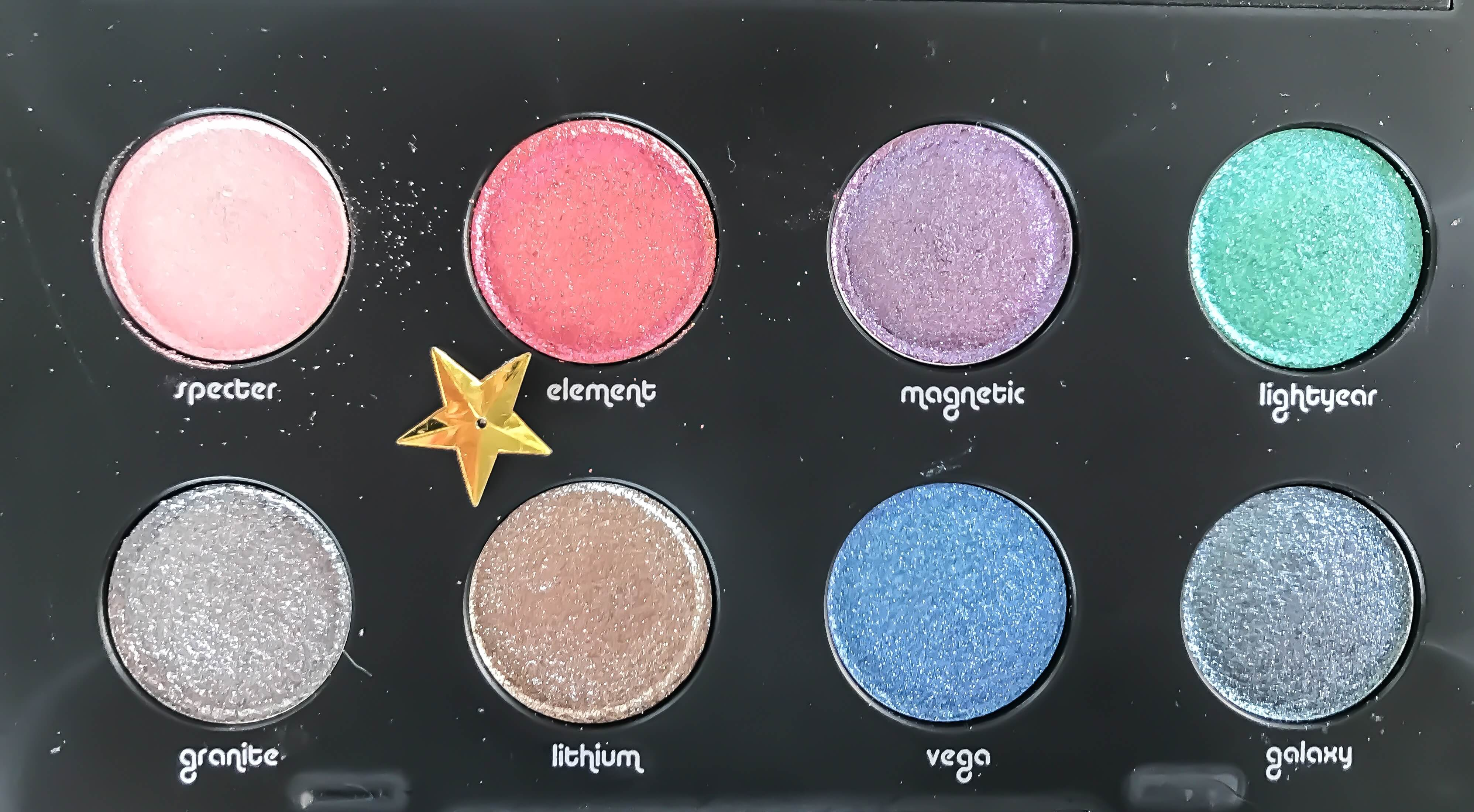 Urban Decay Moondust paleta