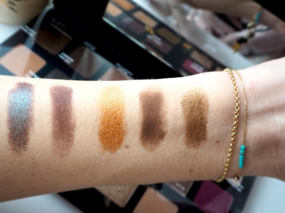 Natasha Denona Start Palette swatches