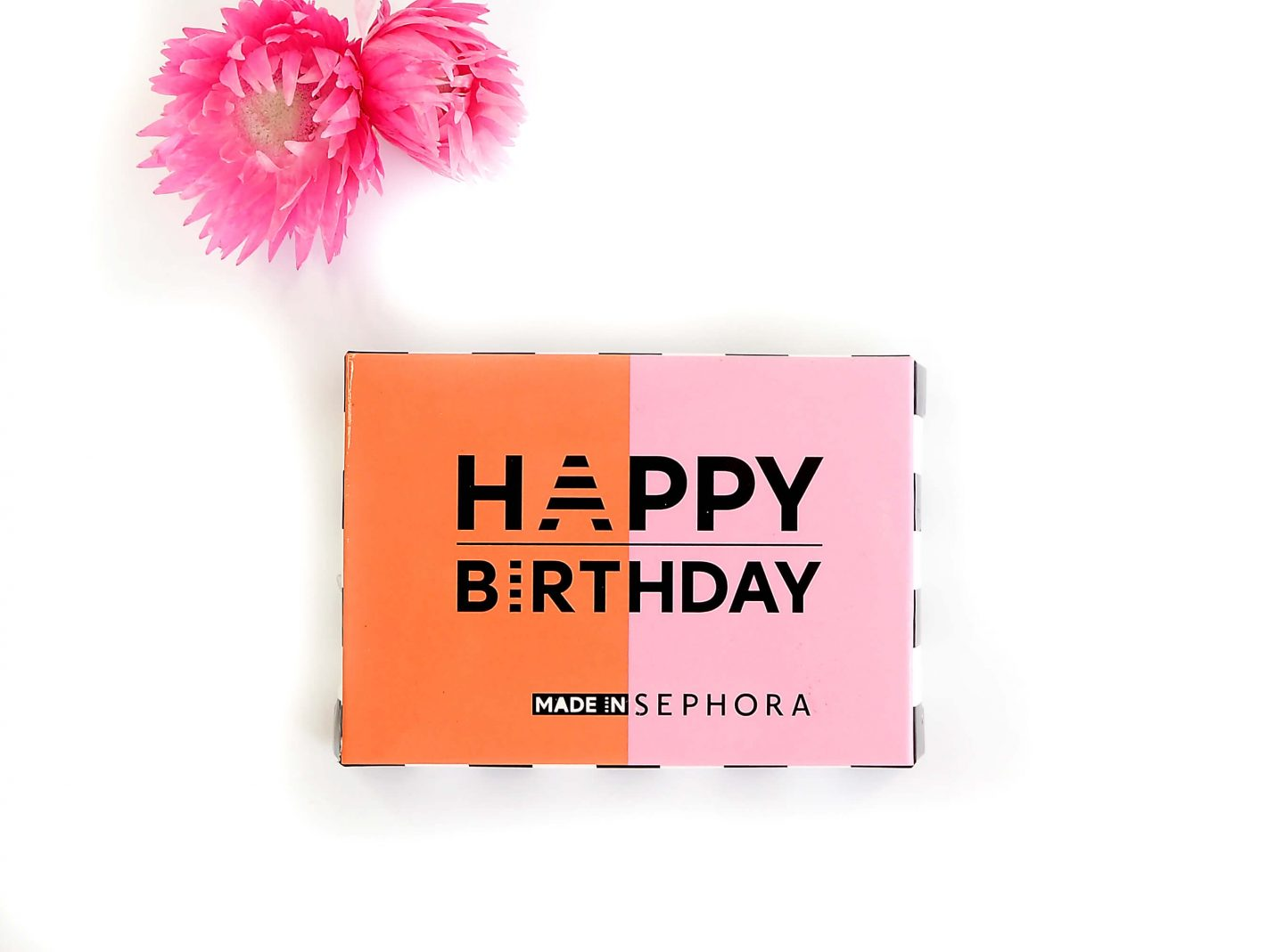 Happy Birthday, prezent od perfumerii SEPHORA