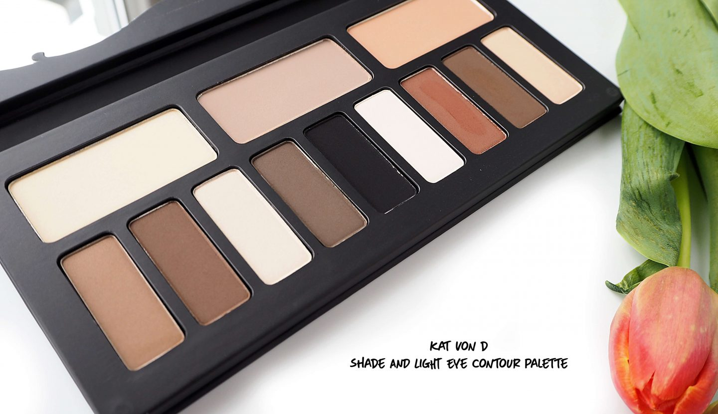 Paleta KAT VON D Shade & Light Contour Eye Palette