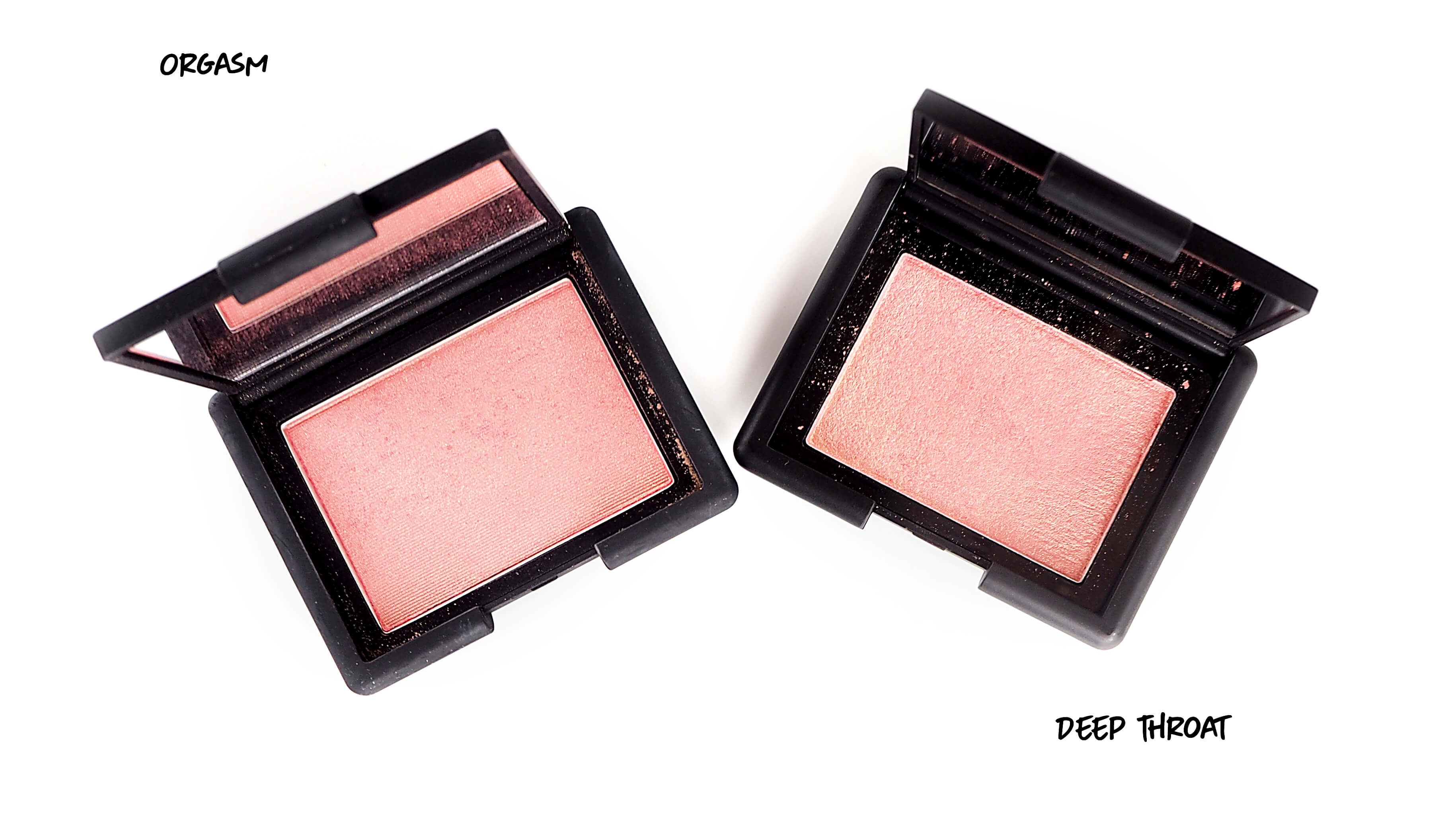 NARS BLUSH Orgasm, Deep Troat