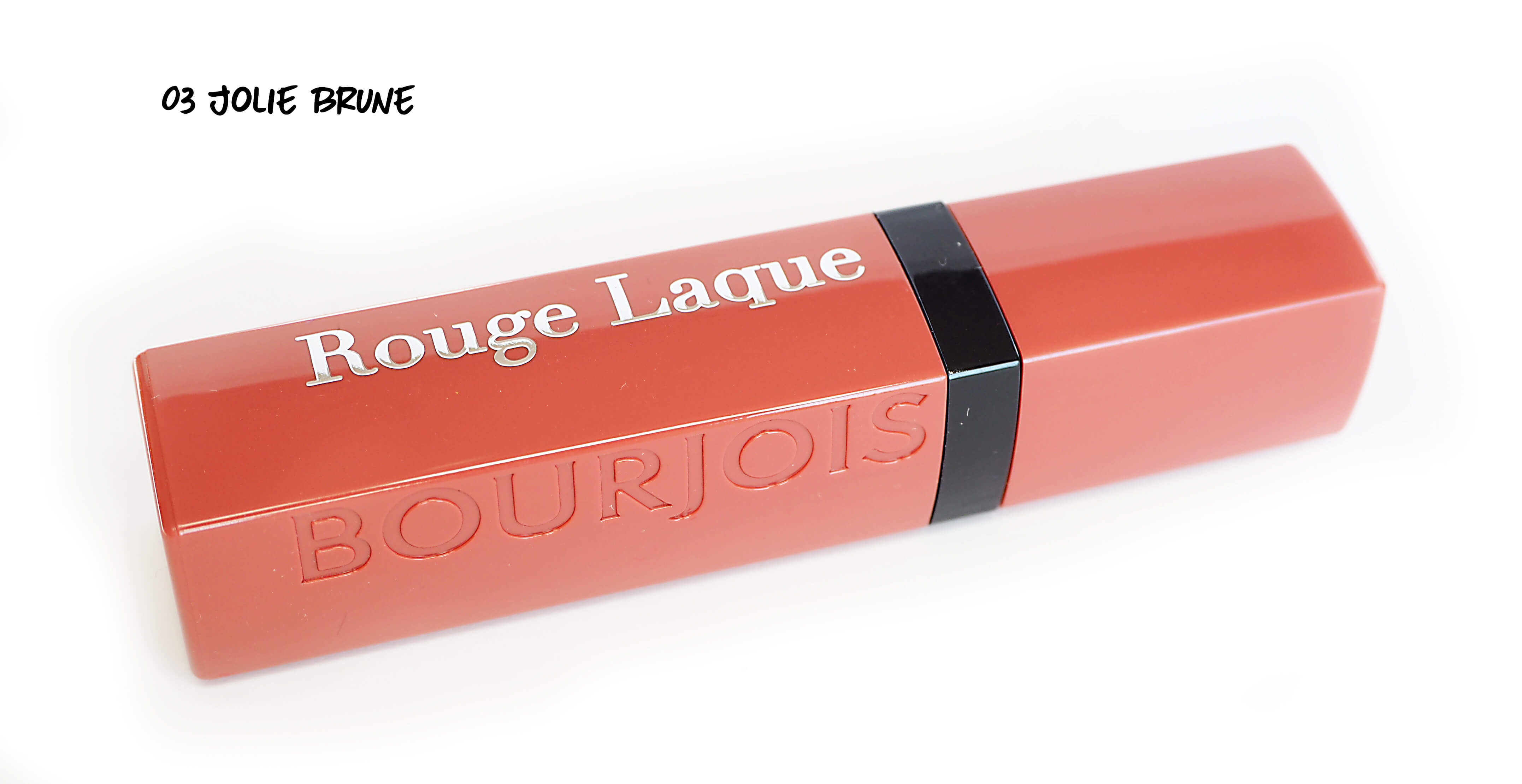 03 JOLIE BRUNE ROUGE LAQUE