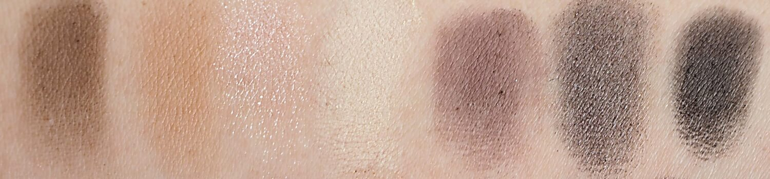 Makeup Revolution Fortune Favours the Brave SWATCHES