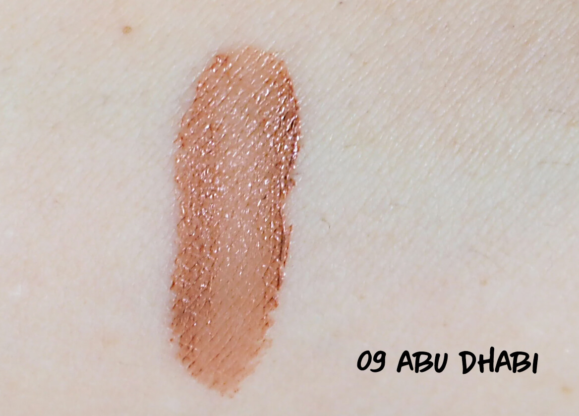 SWATCH NYX ABY DHABI Soft Matte Lip Cream