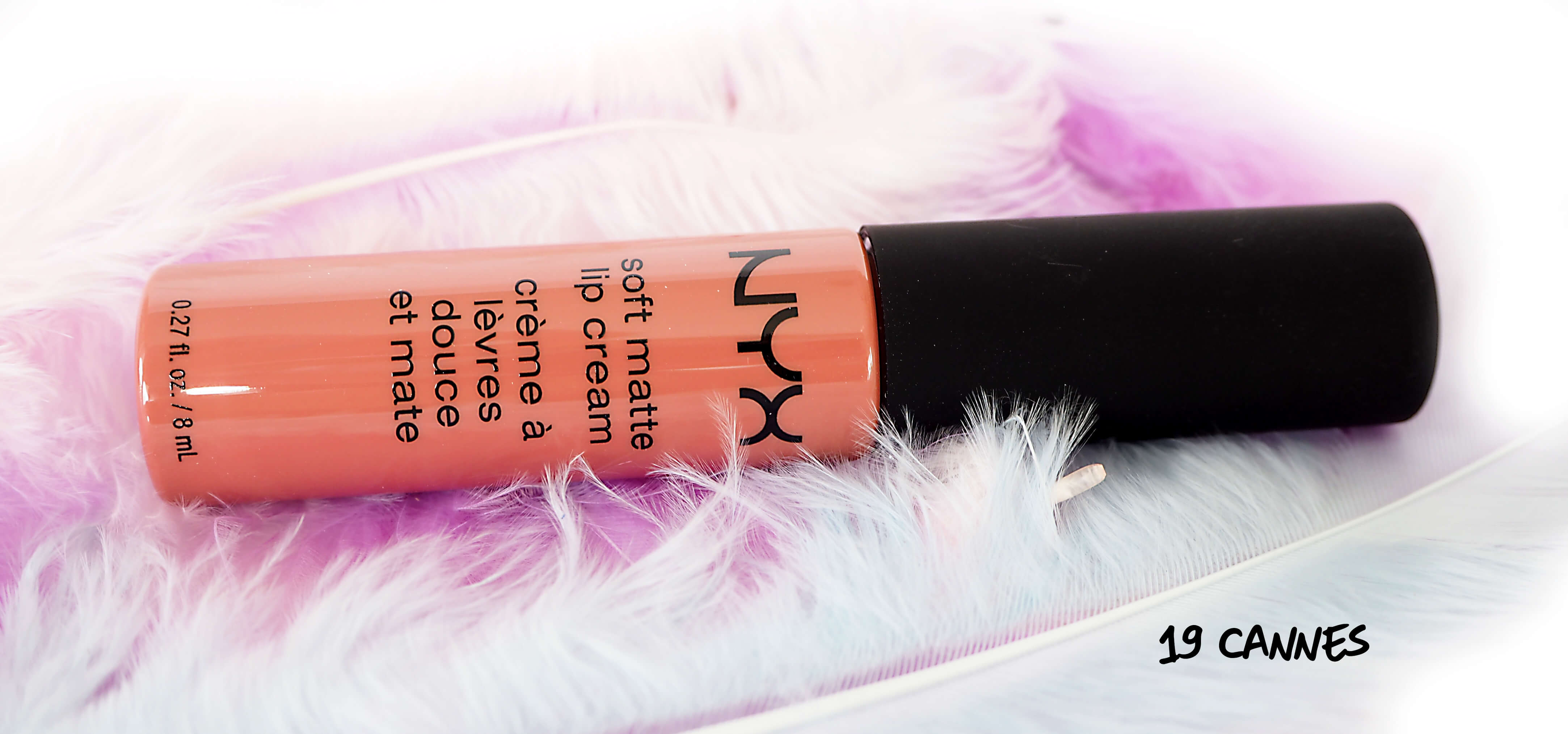 test NYX CANNES Soft Matte Lip Cream