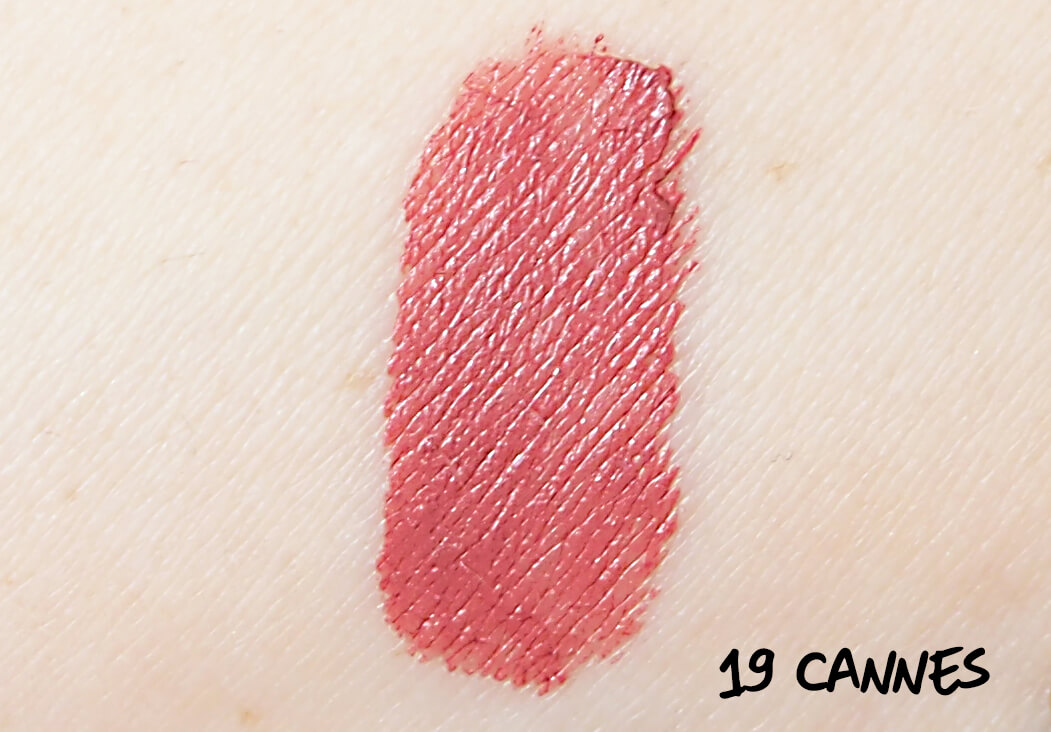 SWATCH CANNES Soft Matte Lip Cream
