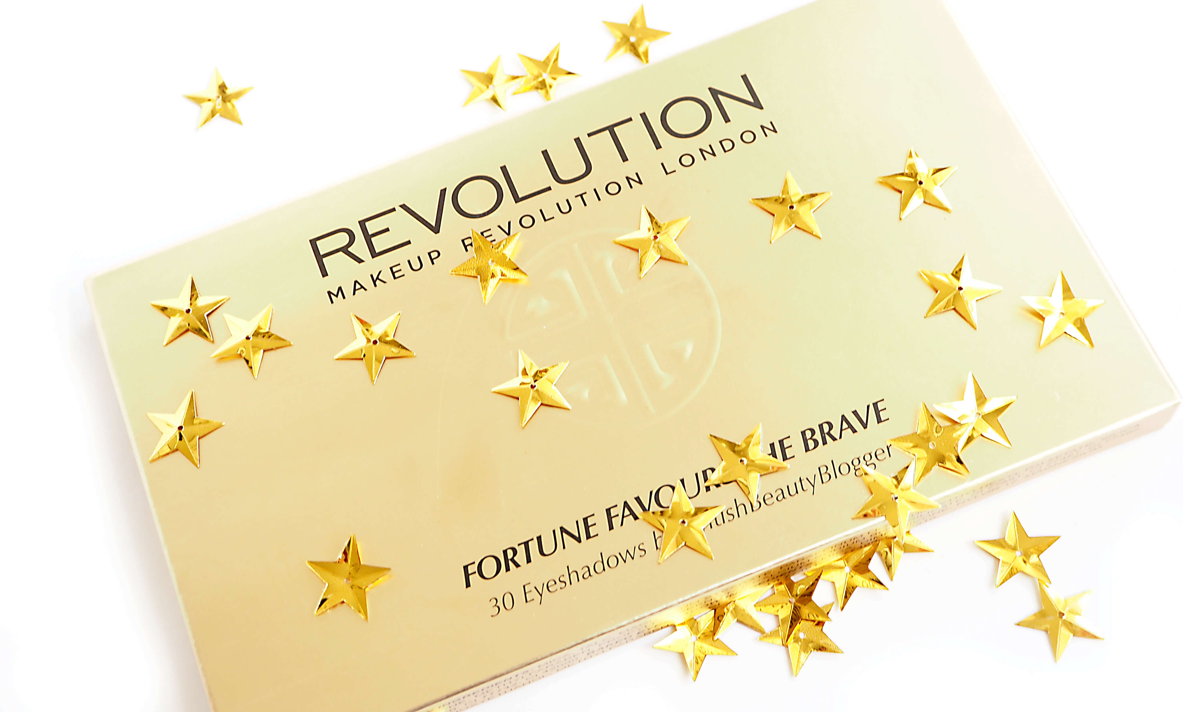 Paleta cieni Makeup Revolution FORTUNE FAVOURS THE BRAVE