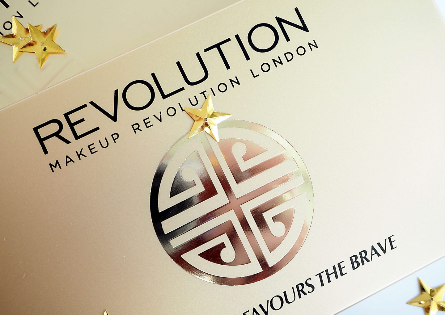 Makeup Revolution FORTUNE FAVOURS THE BRAVE Recenzja