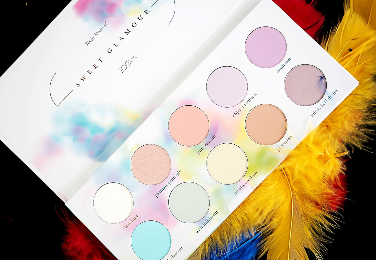 ZOEVA SWEET GLAMOUR COLLECTION palette cieni