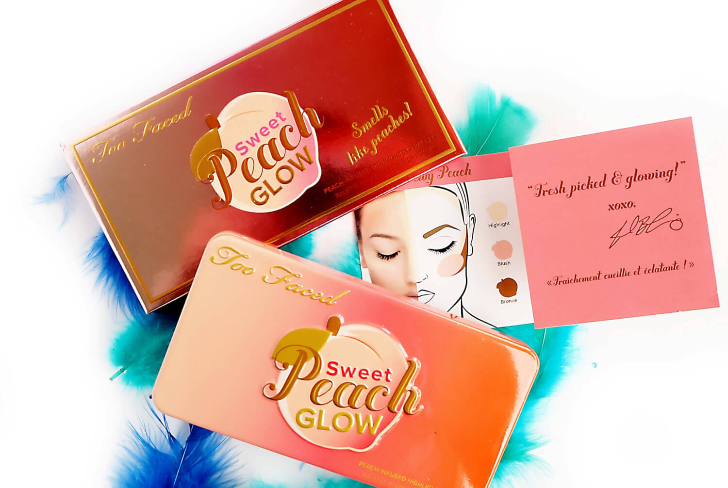 TOO FACED SWEET PEACH GLOW KIT