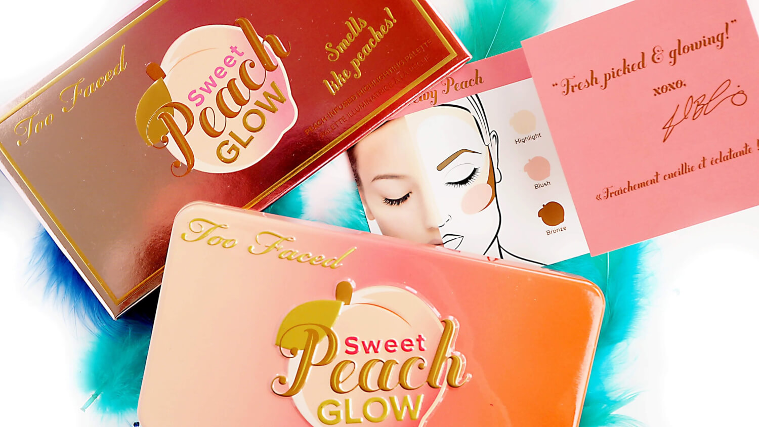 Paleta SWEET PEACH GLOW KIT