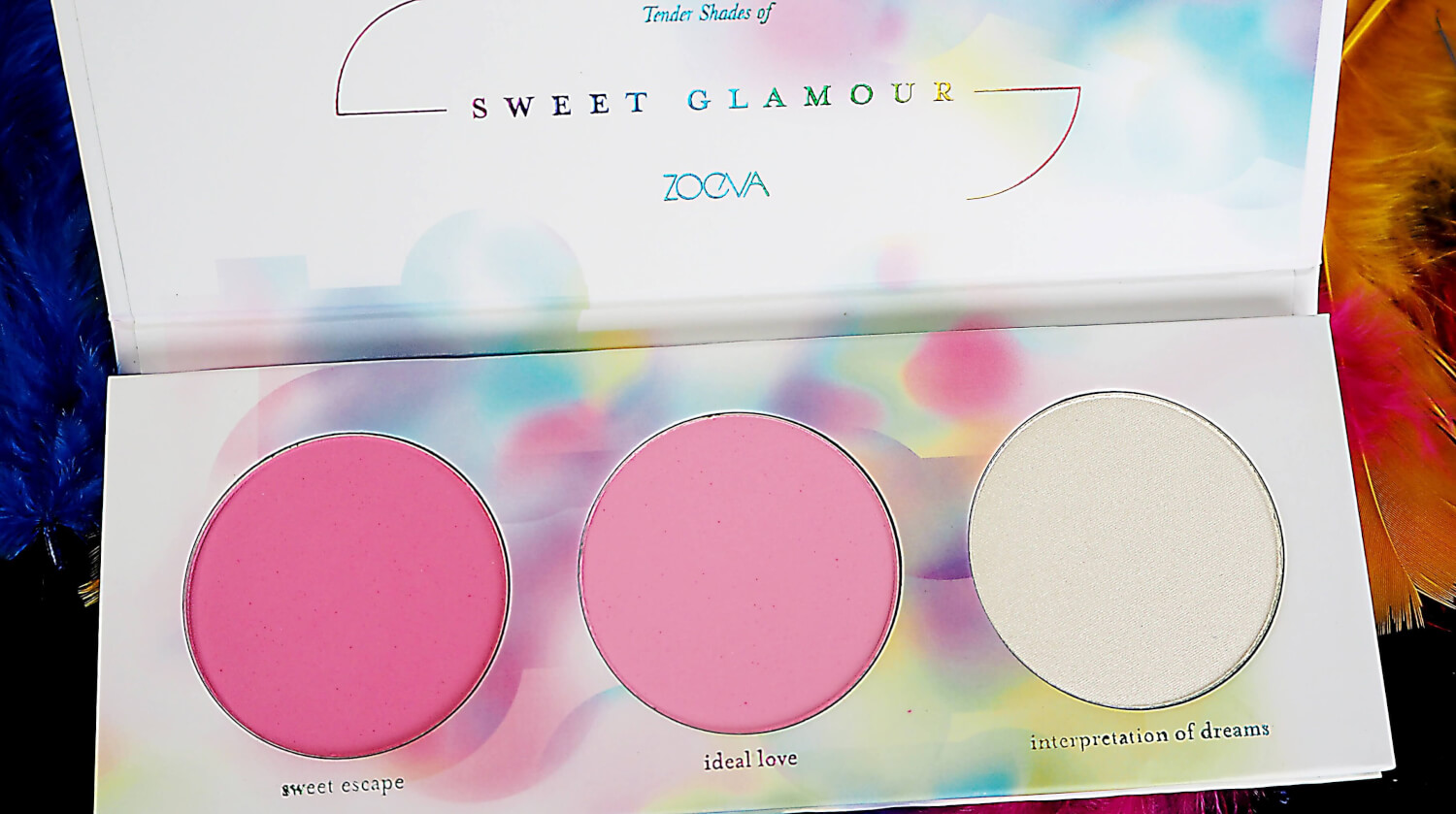 ZOEVA SWEET GLAMOUR COLLECTION palette róży