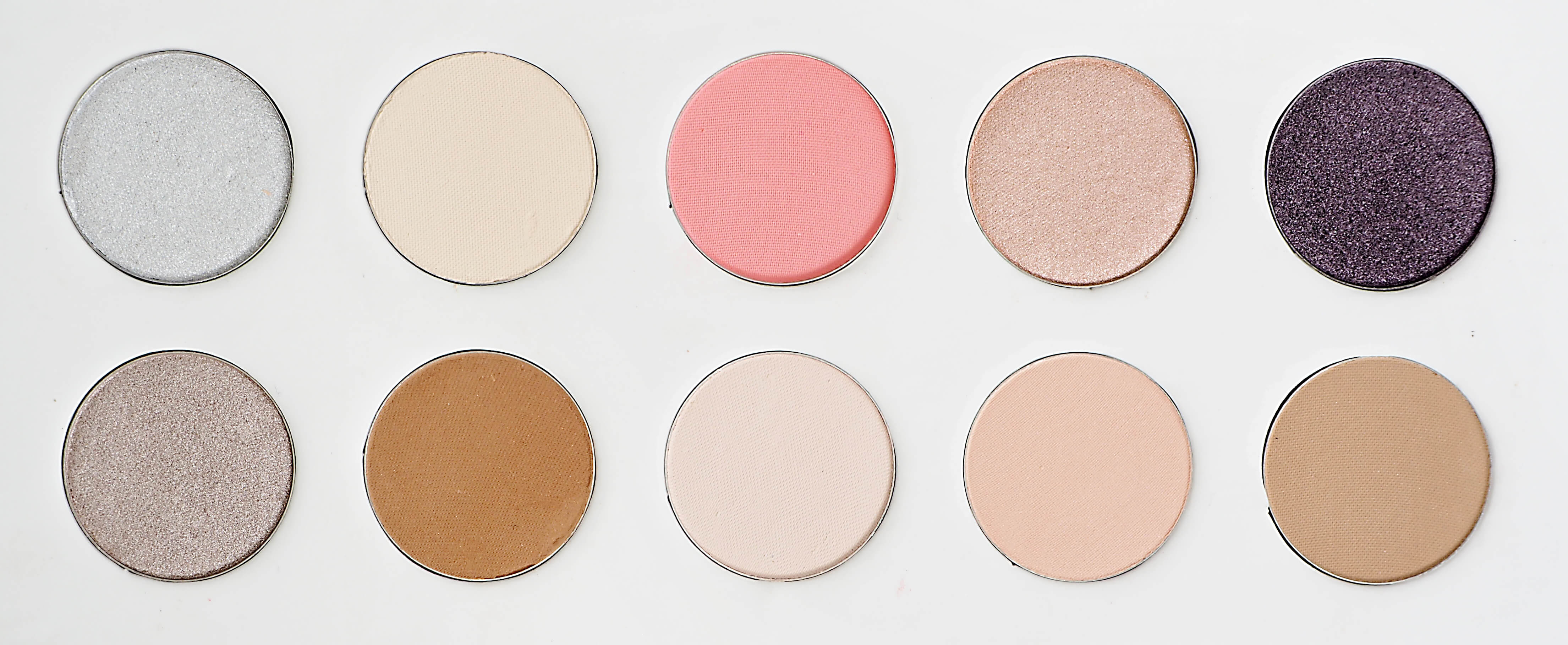 Kolory AFFECT Nude By Day paleta cieni