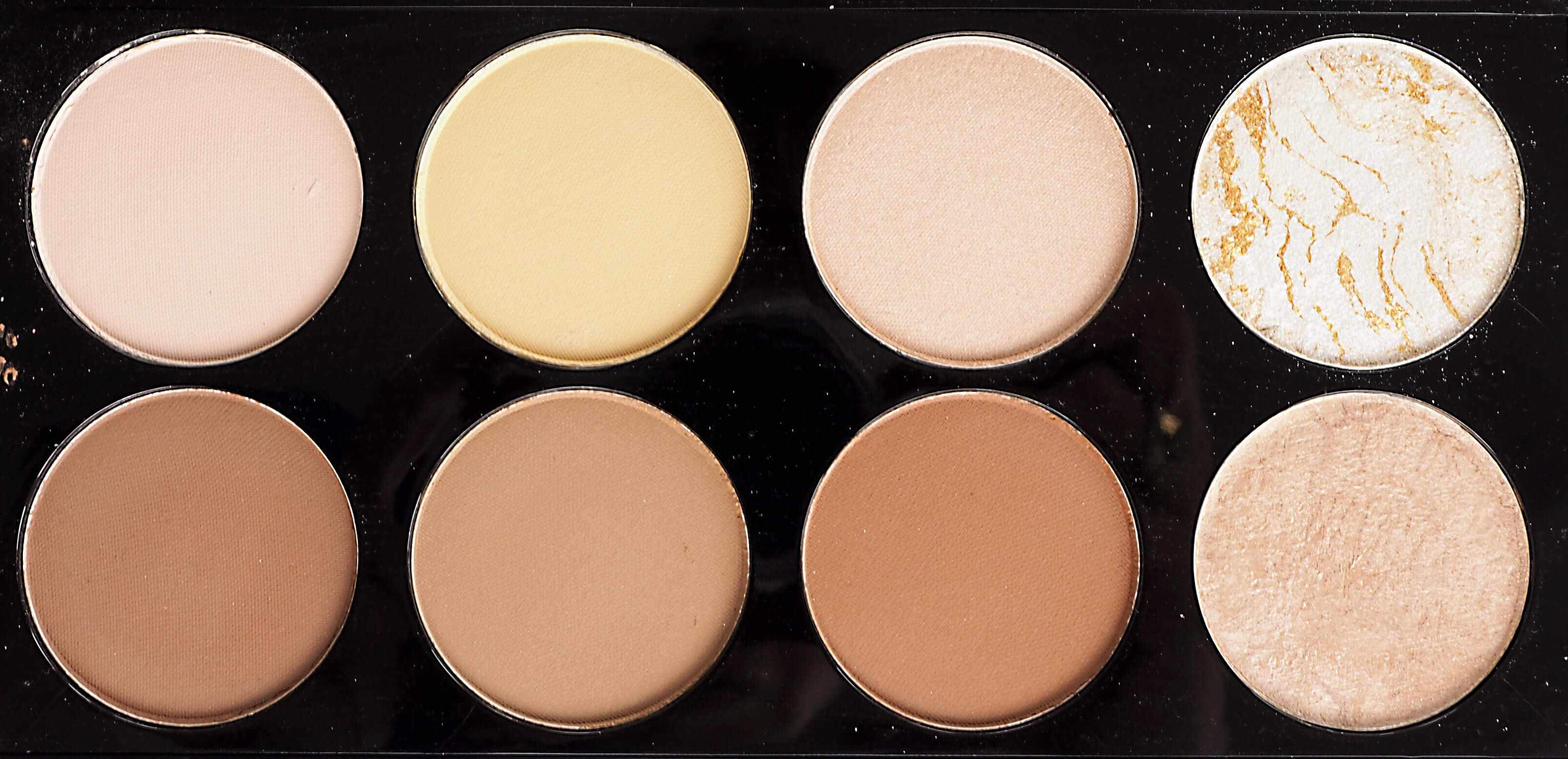 MAKEUP REVOLUTION ULTRA CONTOUR SWATCHES