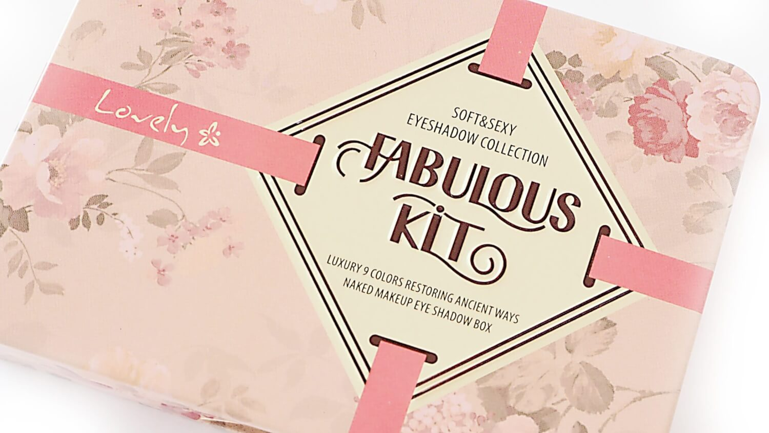 Paleta Cieni LOVELY FABULOUS KIT