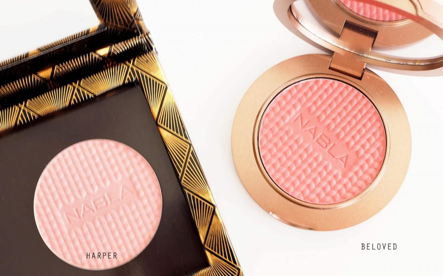 NABLA COSMETICS BLOSSOM BLUSHES | Róże Beloved i Harper
