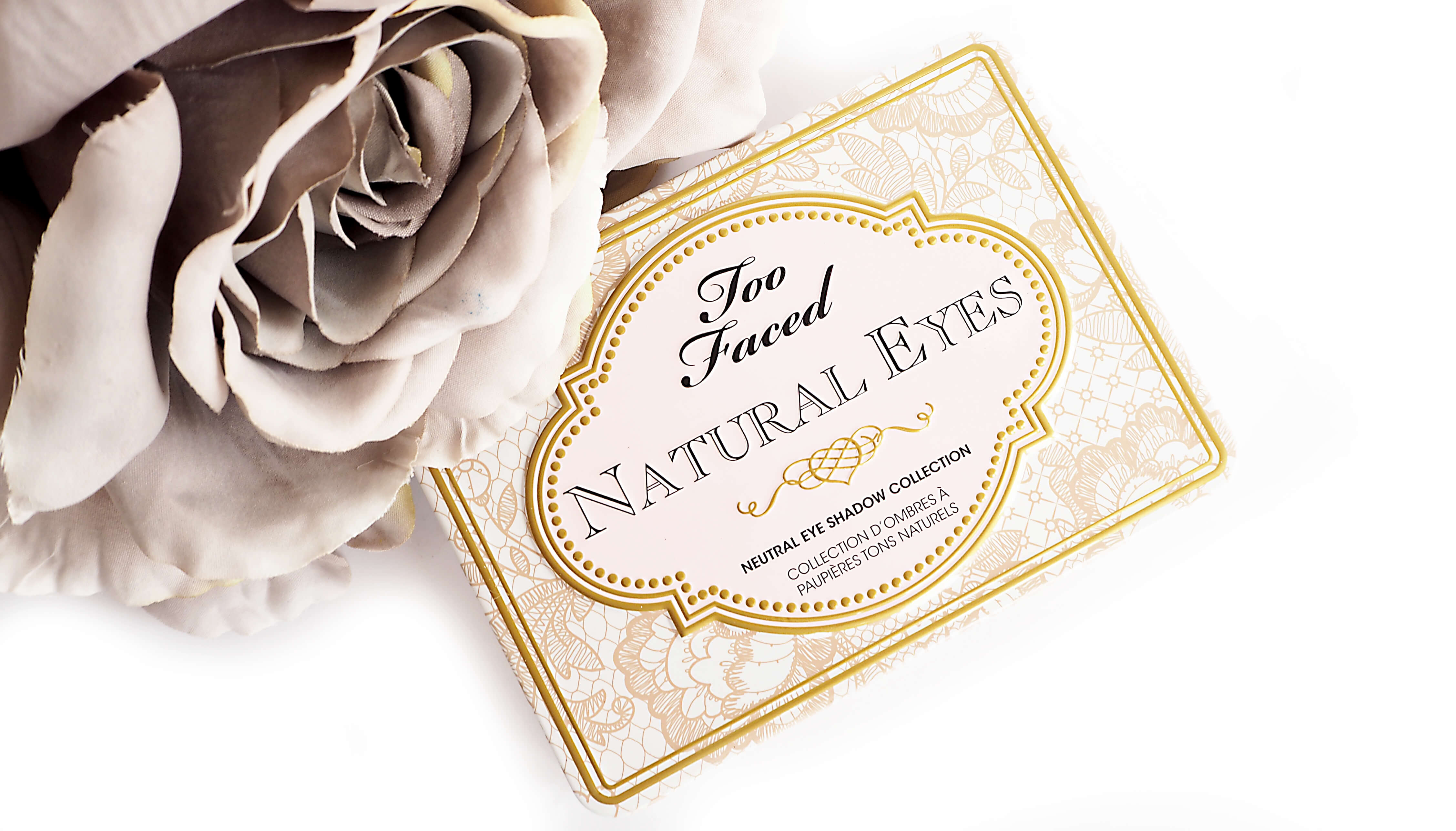 TOO FACED NATURAL EYES palette cieni