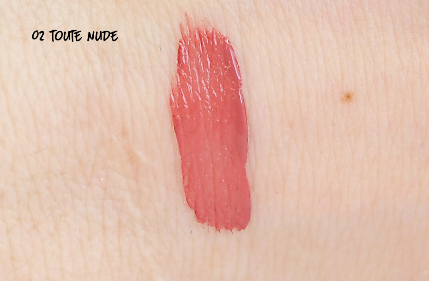 SWATCH TAUTE NUDE ROUGE LAQUE