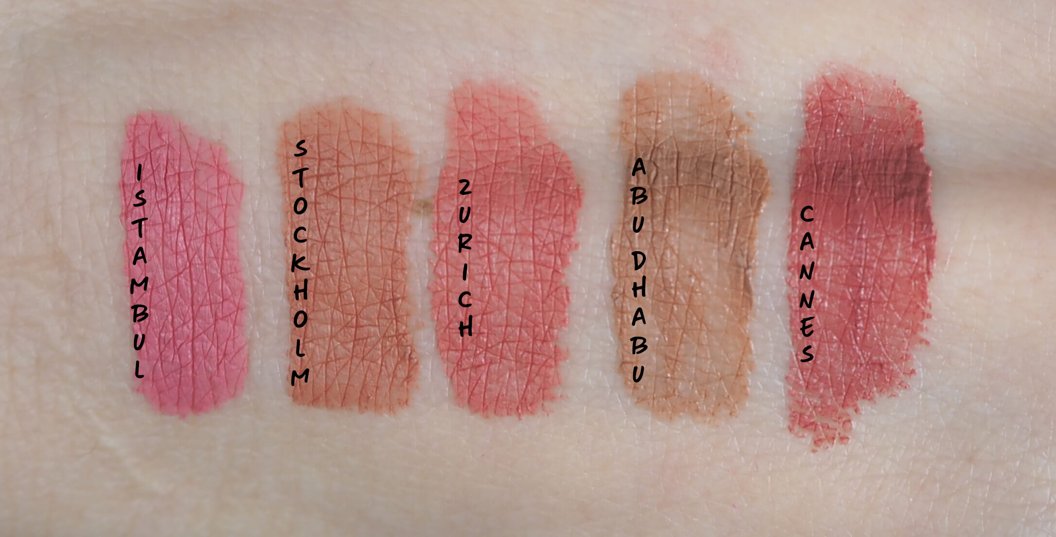 SWATCHES NYX Soft Matte Lip Cream