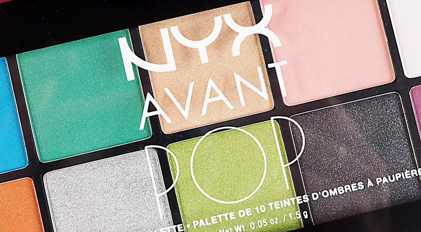 Recenzja NYX AVANT POP ART THROB