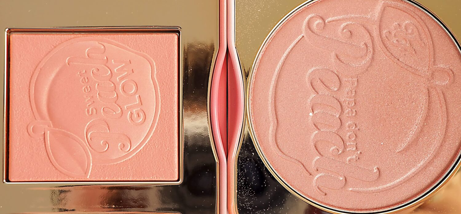 Porównanie SWEET PEACH BLUSH COLLECTION