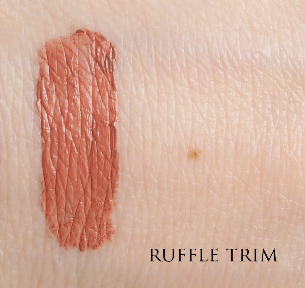 SWATCH NYX RUFFLE TRIM LIP LINGERIE