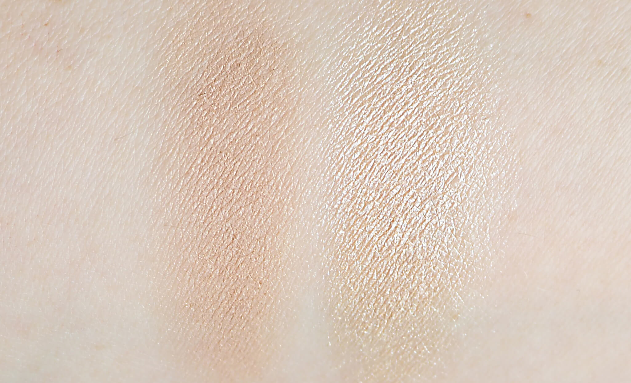 Swatches Makeup Revolution BRONZE and GLOW