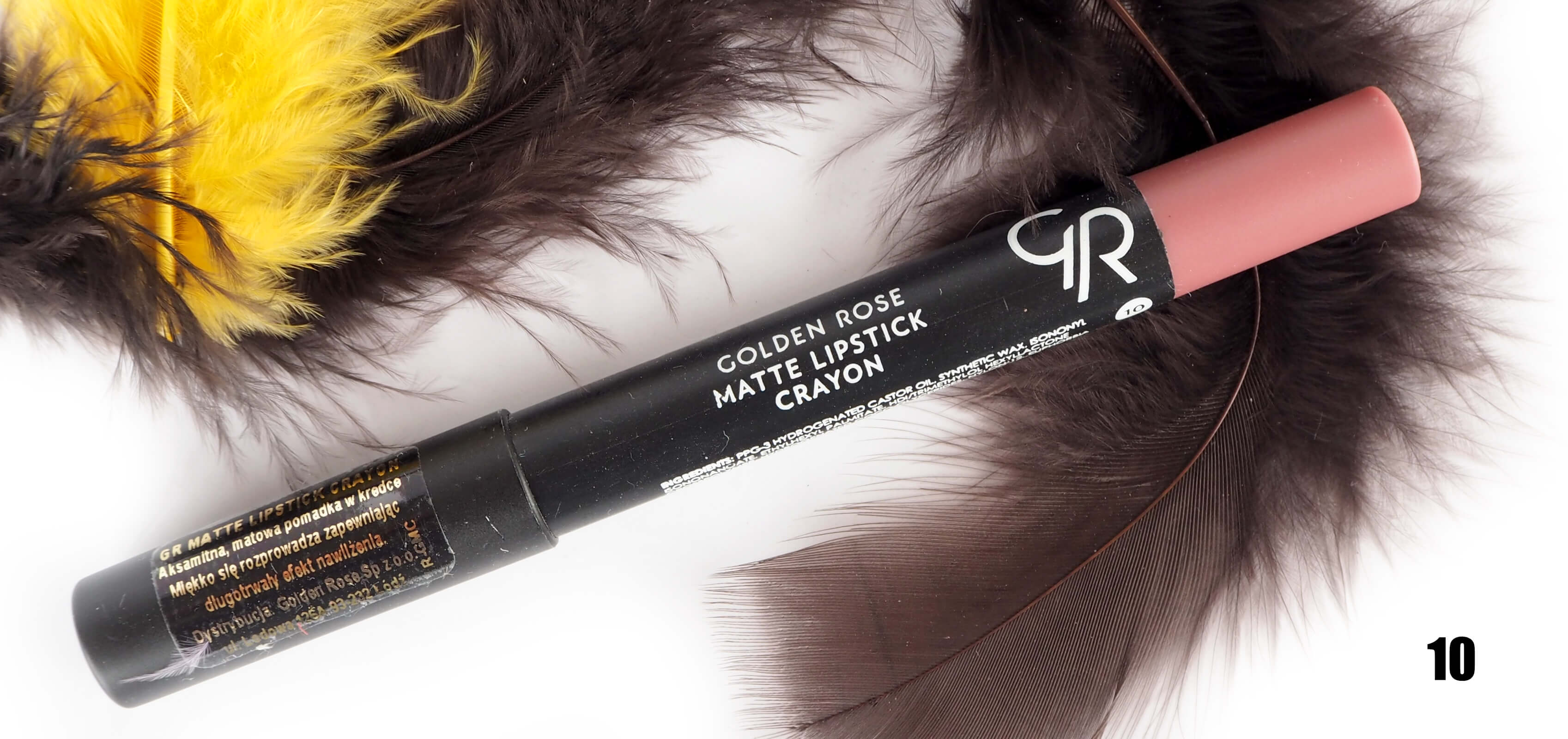 GOLDEN ROSE 10 MATTE LIPSTICK CRAYON