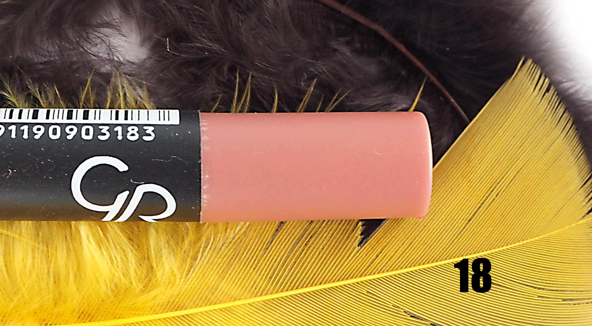 GOLDEN ROSE 18 MATTE LIPSTICK CRAYON