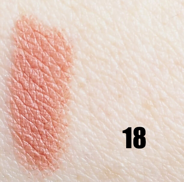 Swatch GOLDEN ROSE 18 MATTE LIPSTICK CRAYON
