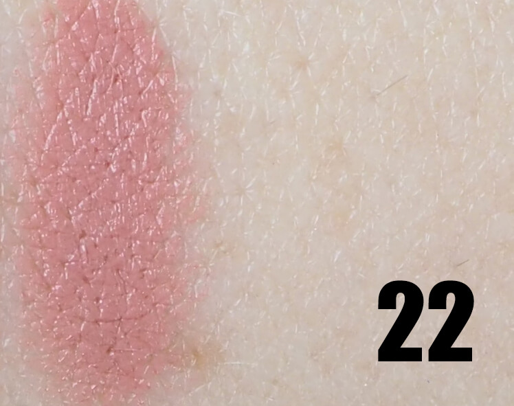 Swatch GOLDEN ROSE 22 MATTE LIPSTICK CRAYON