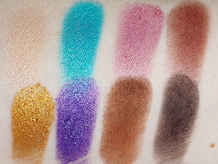 SWATCHES FLAMING LOVE paleta cieni