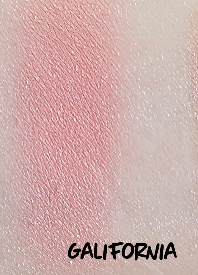 Benefit Galifornia swatch
