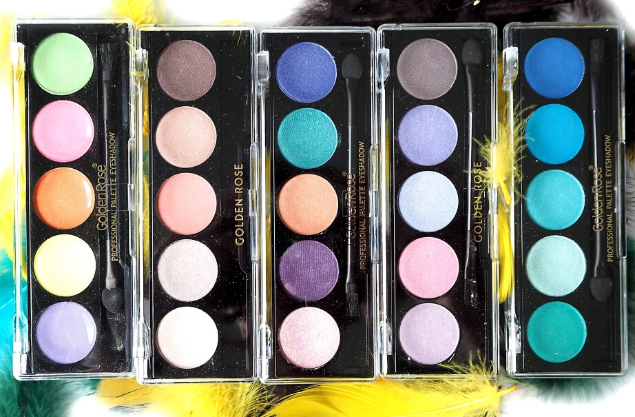 Recenzja GOLDEN ROSE PROFESSIONAL PALETTE EYESHADOW