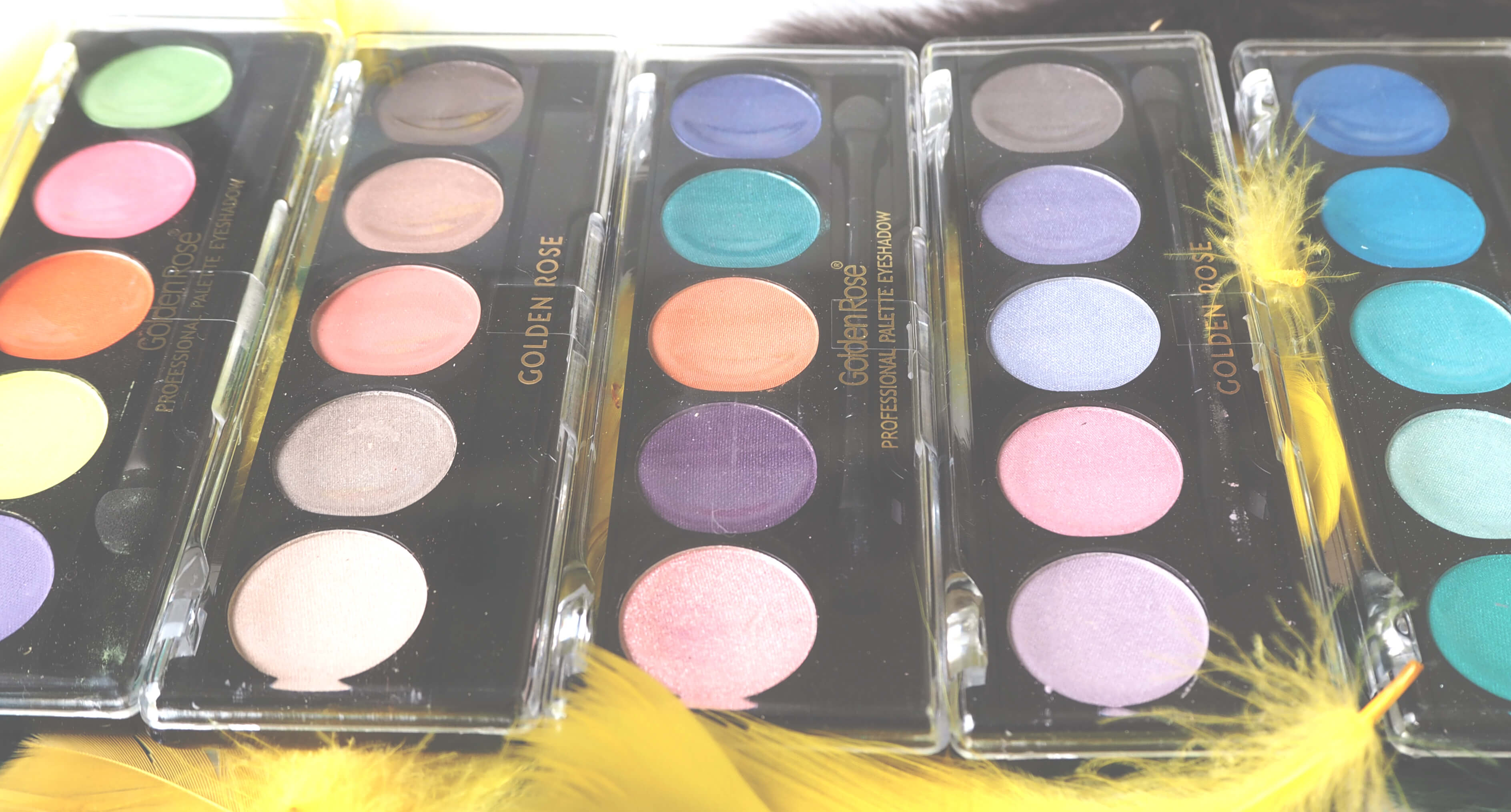 Opinia GOLDEN ROSE PROFESSIONAL PALETTE EYESHADOW
