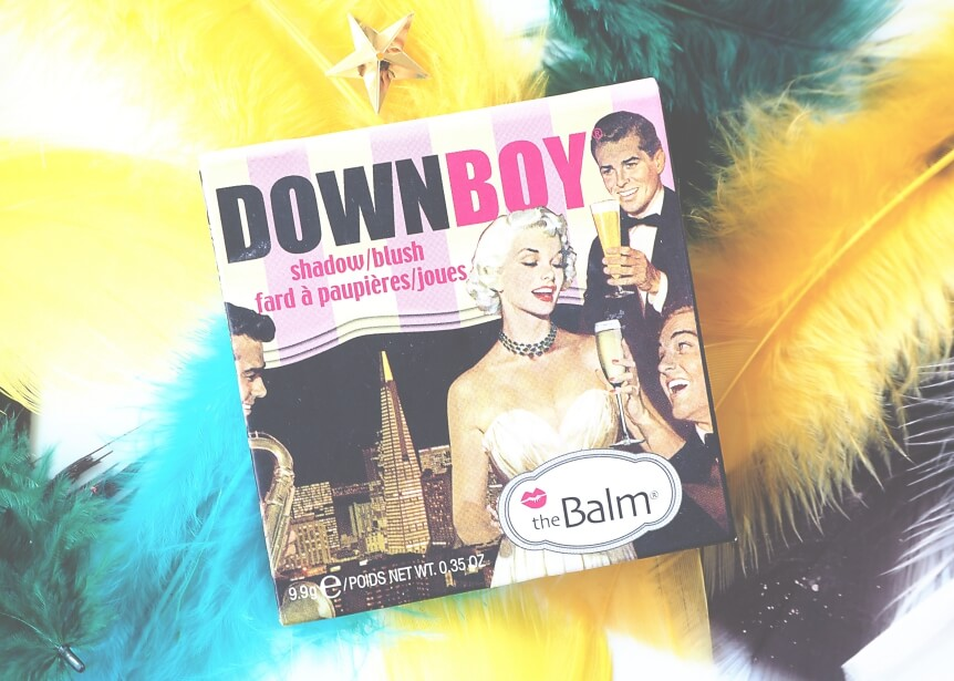 theBALM DOWN BOY Recenzja, swatches