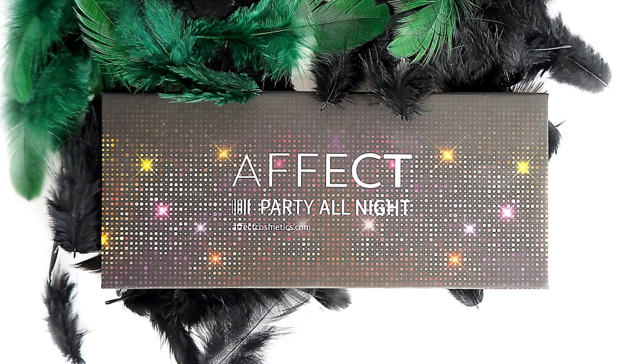 AFFECT COSMETICS PARTY ALL NIGHT RECENZJA | Recenzja, zdjęcia, swatches