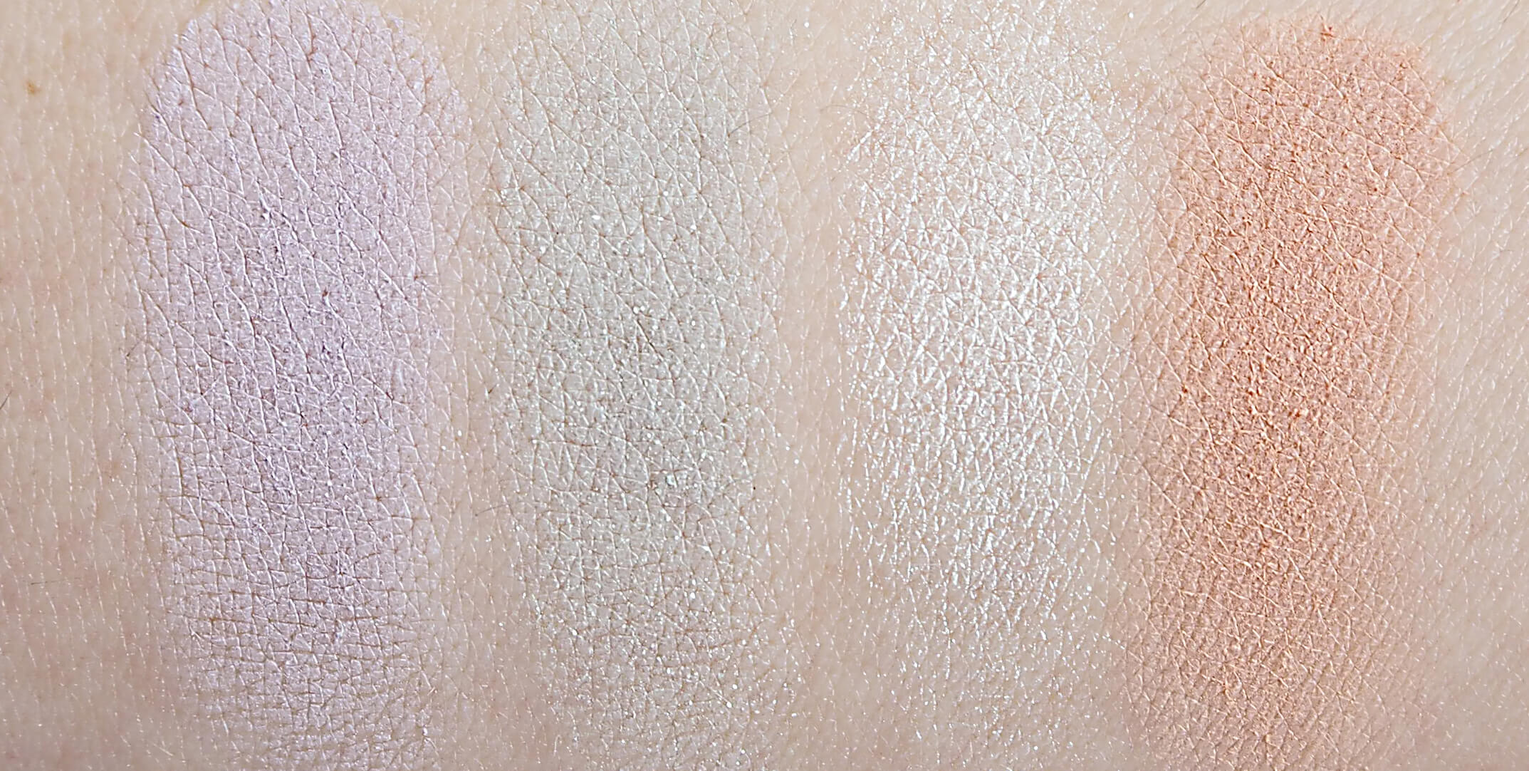 SWATCHES Kolory LORAC I LOVE BRUNCH PRO PALETTE 1 rząd