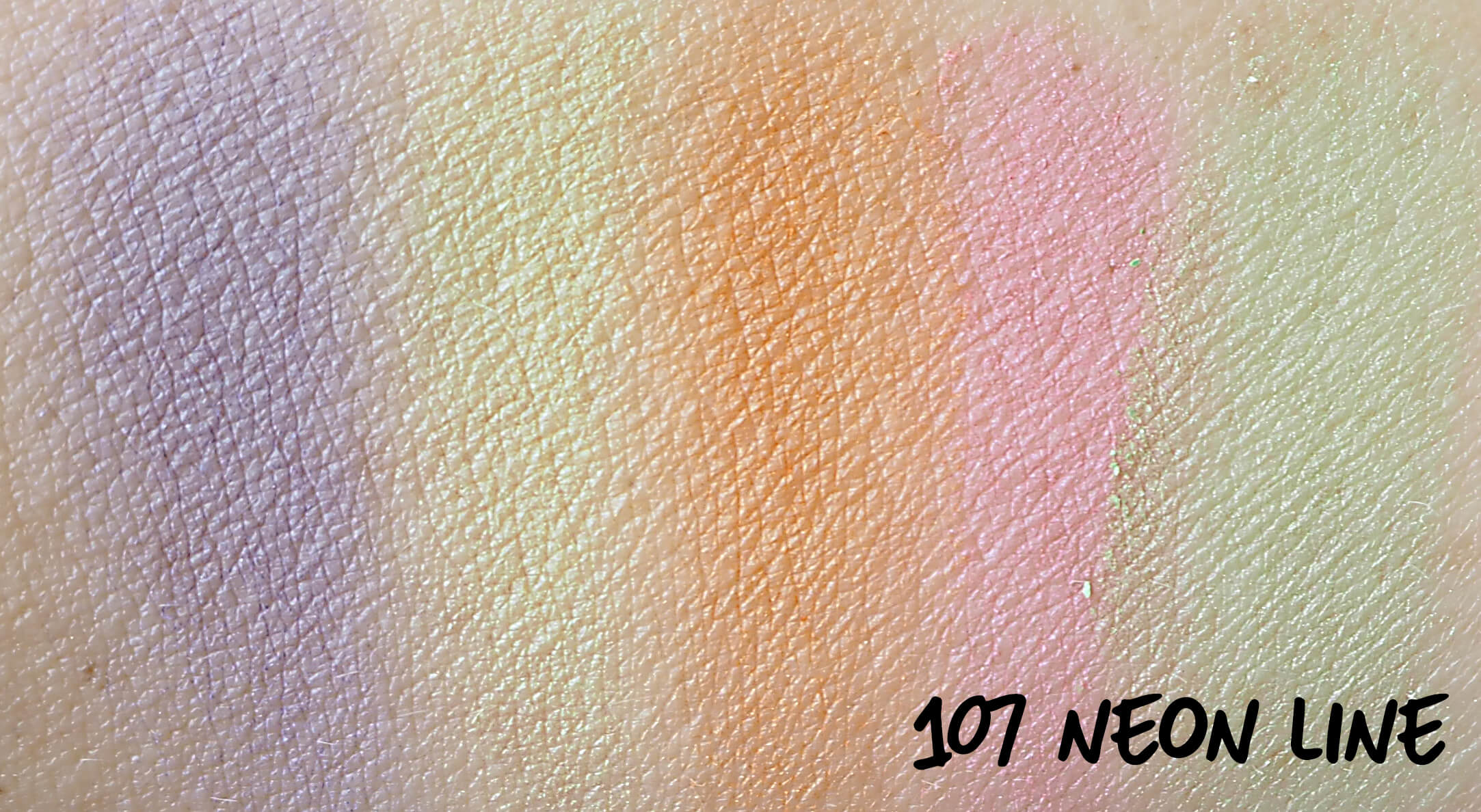 Swatches Golden Rose 107 NEON LINE