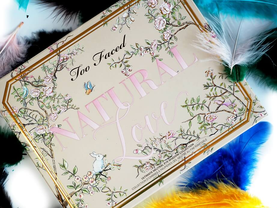 TEST TOO FACED NATURAL LOVE paleta cieni