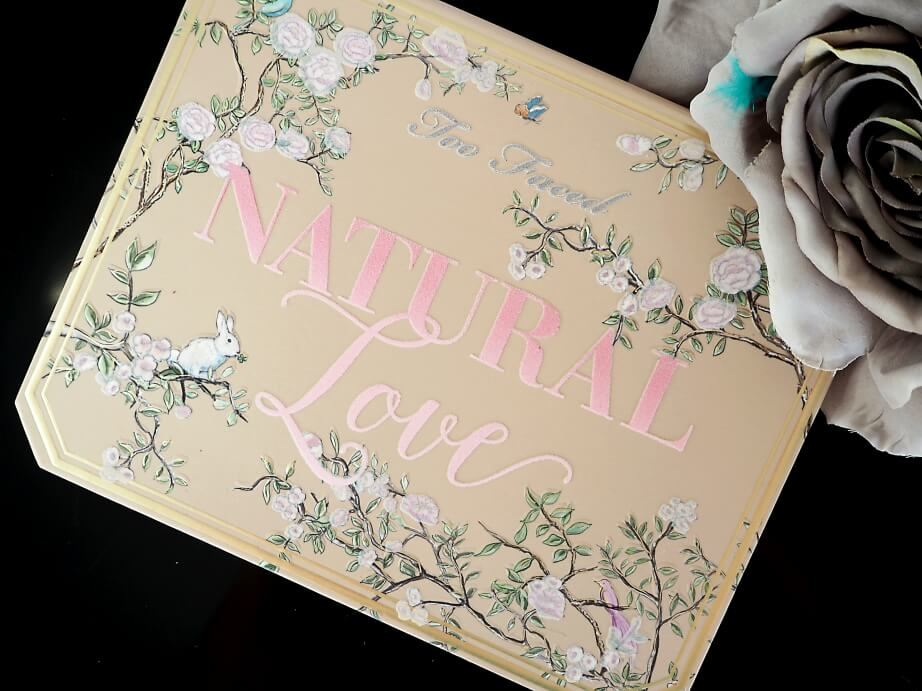 RECENZJA TOO FACED NATURAL LOVE paleta cieni