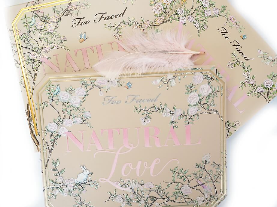 TOO FACED NATURAL LOVE paleta cieni