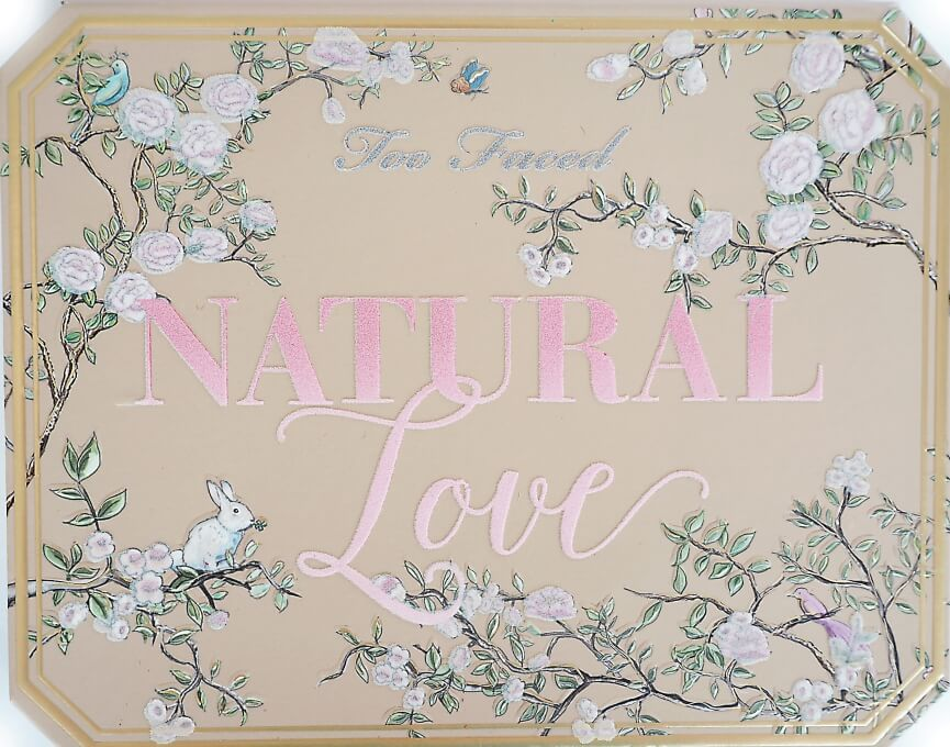 TOO FACED NATURAL LOVE Recenzja swatche